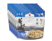 WISE FOOD OUTDOOR COMIDA PREPARADA 6 PACK BERRY CRUNCHY GRANOLA